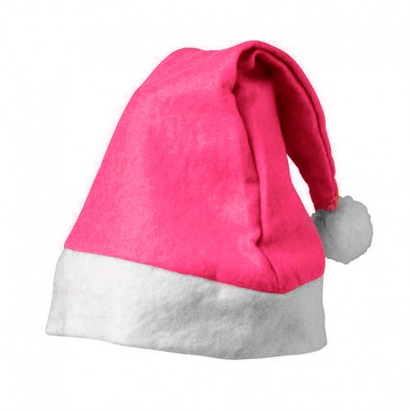 Bonnet de Noël Rose Fonce