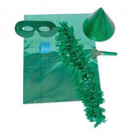 Sac de Cotillons Verts