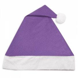 Bonnet de Noël Violet