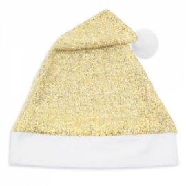 Bonnet de Noël Doré Paillettes