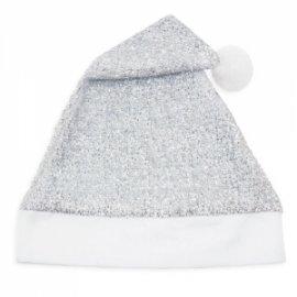 Bonnet de Noël Argenté Paillettes