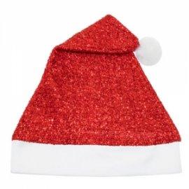 Bonnet de Noël Rouge Paillettes